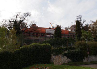 Chateau Montcherand Travaux