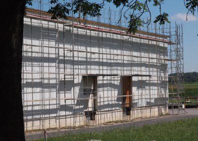 Echafaudage toiture Payerneland
