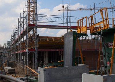 Montage échafaudages chantier à Romont