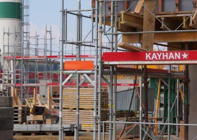 Montage et location d'échafaudages chantier à Romont route de l'Industrie