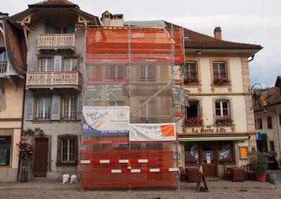 Location échafaudages Estavayer