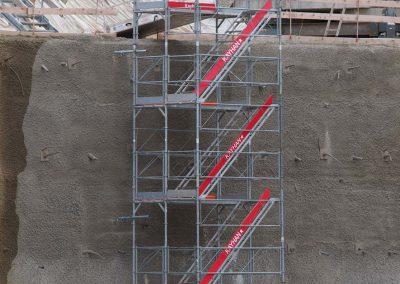 Tours accès escaliers échafaudages Romont