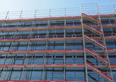 Echafaudages chantier Corminboeuf